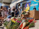 В Шымкенте почтили память Дениса Тена