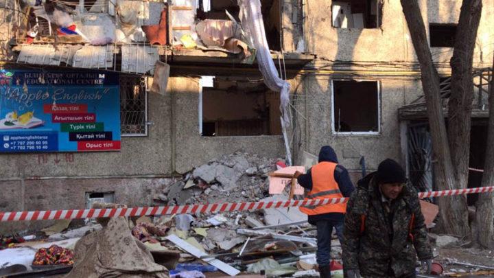 3 человека погибли из-за взрыва дома в Таразе