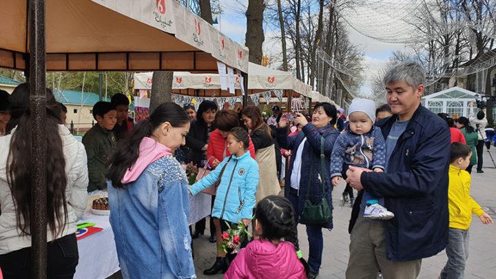 Первая детская ярмарка прошла в Шымкенте