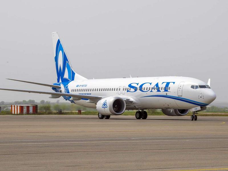 Эксплуатация нового Boeing авиакомпании SCAT приостановлена