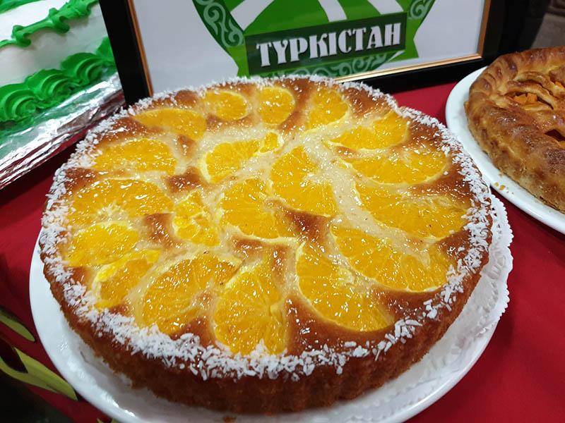 Лучший пирог выбрали в Туркестанской области
