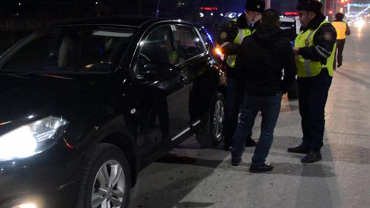 20 пьяных водителей поймали на этой неделе полицейские Туркестанской области