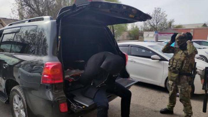 Спецоперацию провели сотрудники КНБ в Шымкенте
