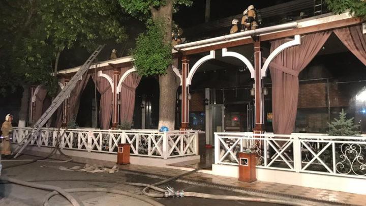 Кафе «Макси-Бургер» горело в Шымкенте