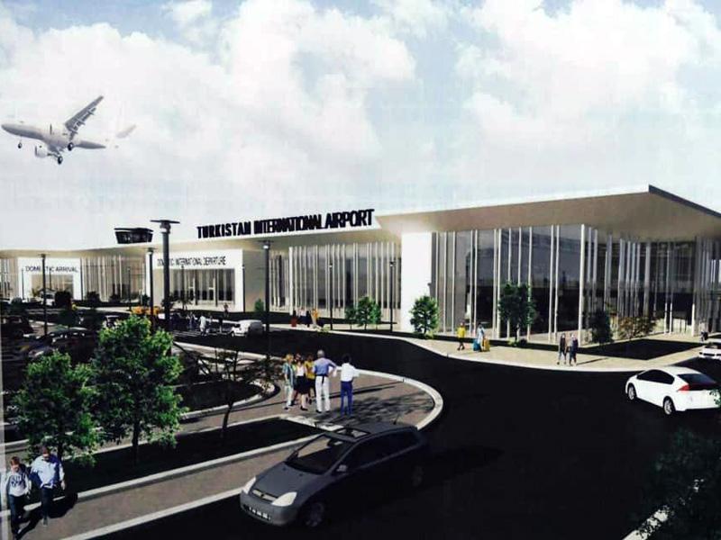 Аэропорт в Туркестане введут в эксплуатацию в конце 2020 года