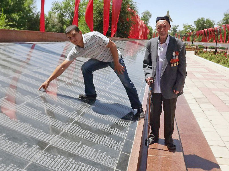 Ветеран ВОВ Гани Ергешев в обиде на акимат Шымкента