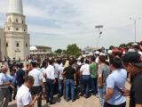 Жители Арыси не хотят возвращаться домой и требуют жилье в Шымкенте