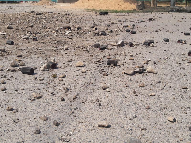 Репортаж из Арыси. Город, в котором снаряды летают по улицам