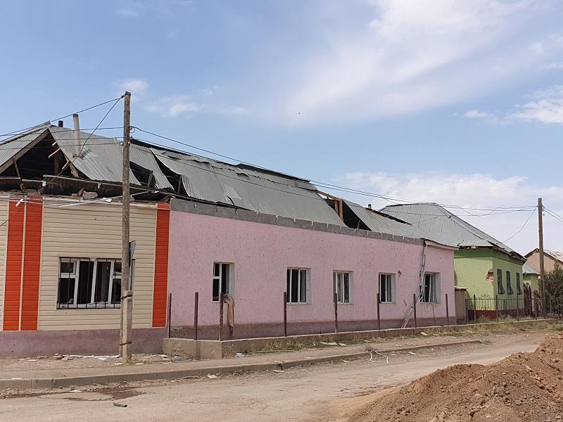 Самый разрушенный микрорайон Арыси будет восстанавливать Атырауская область