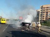 Автомобили стали часто гореть в Шымкенте