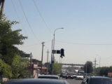 Выяснилась причина поломки светофора в Сарыагаше