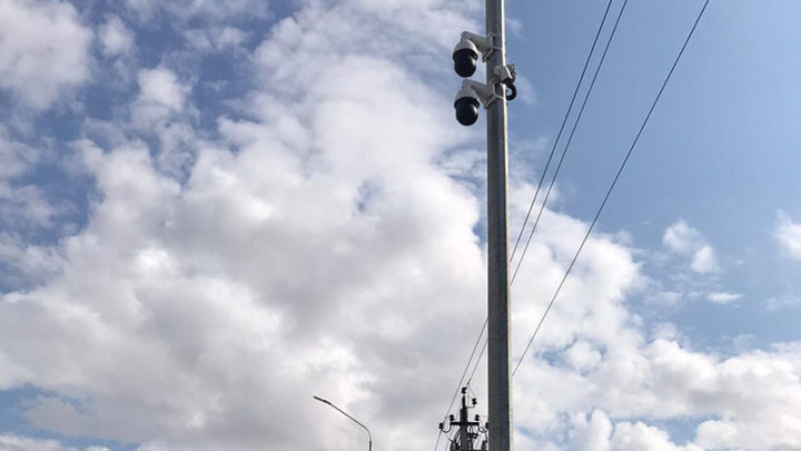За порядком на улицах Туркестана наблюдают 77 камер