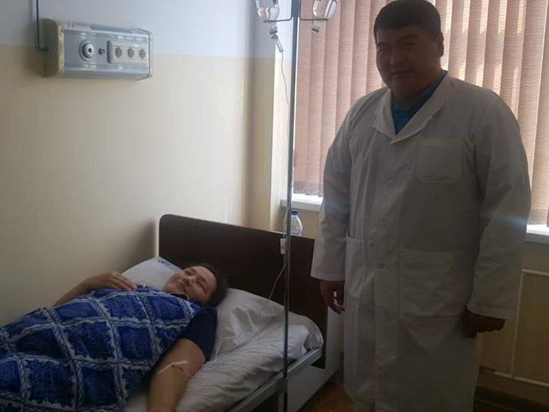 Кучу паразитов из беременной извлекли врачи Шымкента