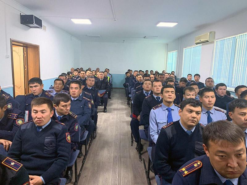 Почти в два раза сократилось количество преступлений в Туркестане