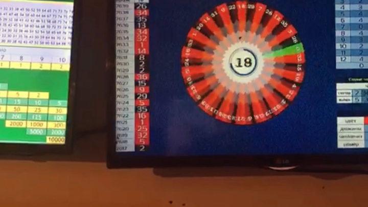 Подпольное казино обнаружено в Сарыагашском районе