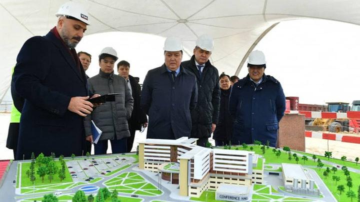 Многопрофильную больницу начали строить в Туркестане