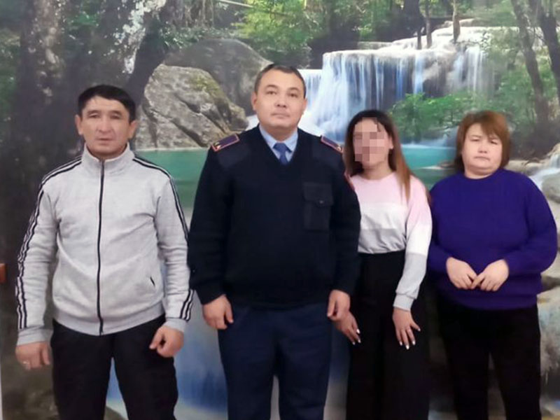 13-летняя девочка после ссоры с родителями ушла из дома в Туркестанской области