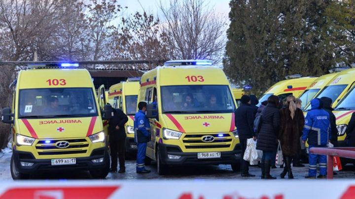 Изношенные машины скорой помощи в Шымкенте поменяли на новые неотложки