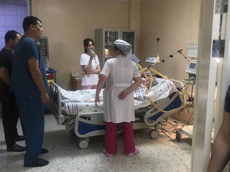 Три остановки сердца за одну ночь пережила жительница Шымкента