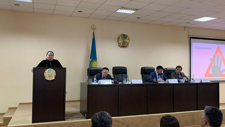 Добропорядочности учили сотрудников Департамента государственных доходов Шымкента