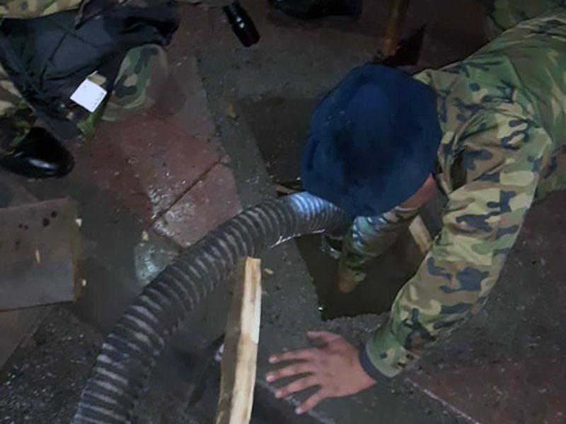 Ливень и мусор в ирригационной системе стали причиной затоплений в Шымкенте