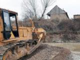 Русло реки Бадам меняют для предотвращения затоплений в Шымкенте
