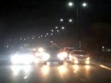 Лихачи развлекались на дорогах Шымкента