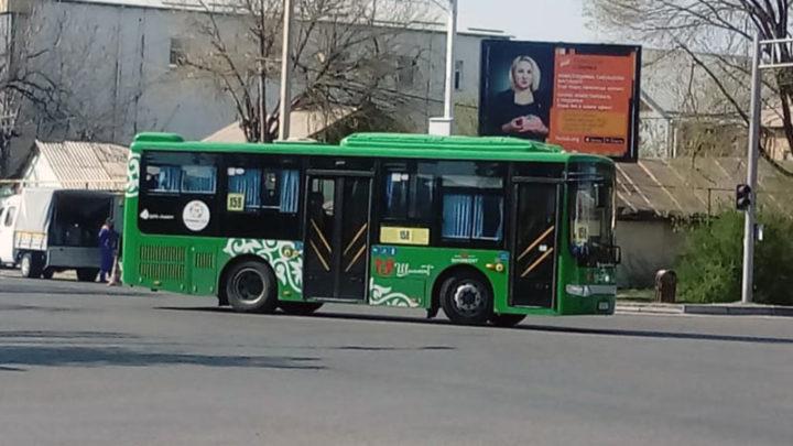 На 25% сокращено количество автобусов в Шымкенте