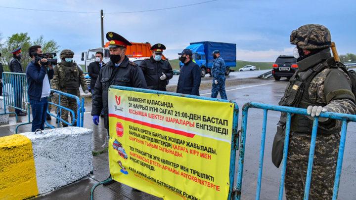 20 шымкентцев арестованы за нарушение режима ЧП