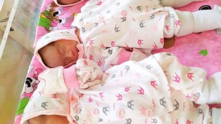Тройняшки родились в Шымкенте