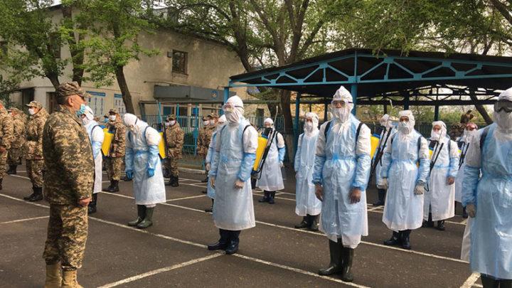 Месяц будут служить добровольцы, которые приняли участие в военных сборах в Шымкенте