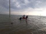 На 6 см упала вода на затопленных территориях в Мактааральском районе