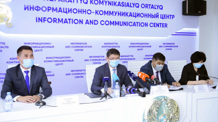 Вспышка заболевания COVID19 на нефтеперерабатывающем заводе Шымкента