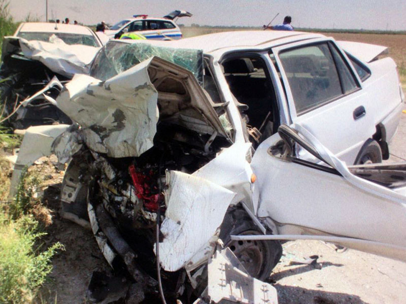 4 человека погибли в аварии на трассе Жетысай-Шардара