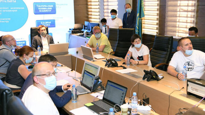 Российские врачи приступили к работе инфекционных больницах Шымкента