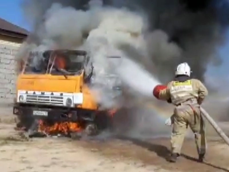 98 млн тенге составил ущерб от пожаров в Шымкенте