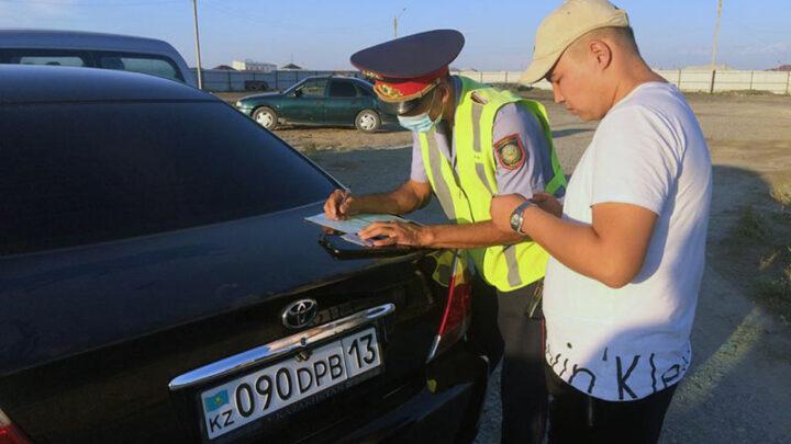 «Герои» видео о беспределе на дороге привлечены к ответственности в Туркестанской области