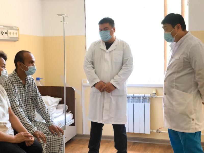 Трансплантацию почек возобновили в Шымкенте