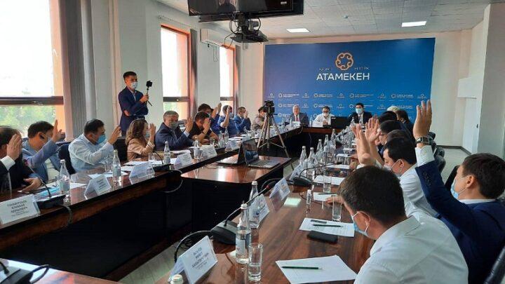 Руководителя Регионального совета Палаты предпринимателей выбрали в Шымкенте