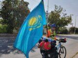 На велосипеде доехать из Алматы в Атырау решил казахстанец