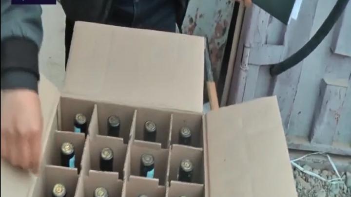 Поддельный алкоголь продавали в продуктовых магазинах Шымкента