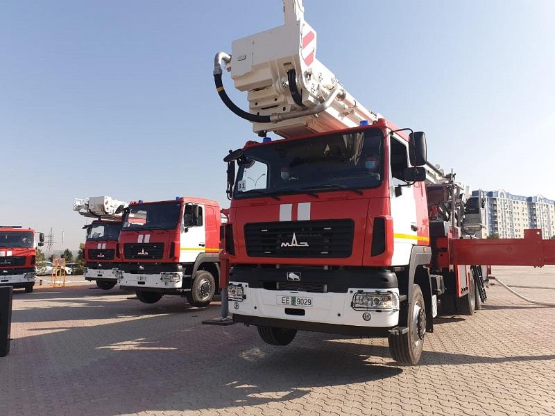 Больше 4 млрд тенге потратили на технику для пожарных Шымкента