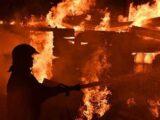 Ранним утром едва не сгорел дом в Шымкенте