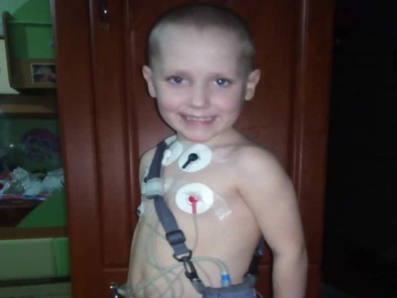 Мальчику с диагнозом «мусковисцидоз» нужна помощь