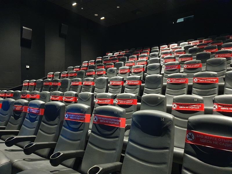 Состояние кинотеатров Шымкента раскритиковали санэпидемиологи
