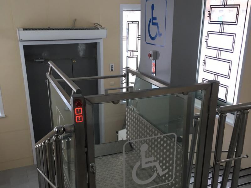 Лифт-подъемник установили в реабилитационном центре для детей с ДЦП в Шымкенте