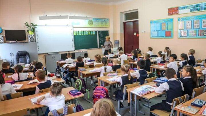 В обычном формате на уроки приходят ученики 9 школ Шымкента