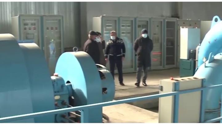 Гидроэлектростанцию построили в горах Туркестанской области