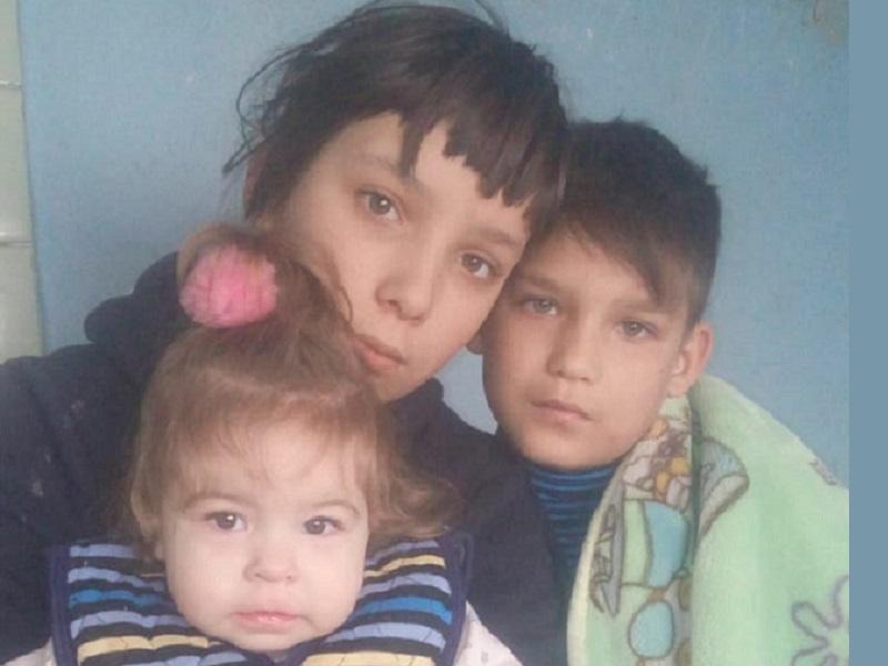 Одинокая мама четверых детей просит помочь углем и продуктами