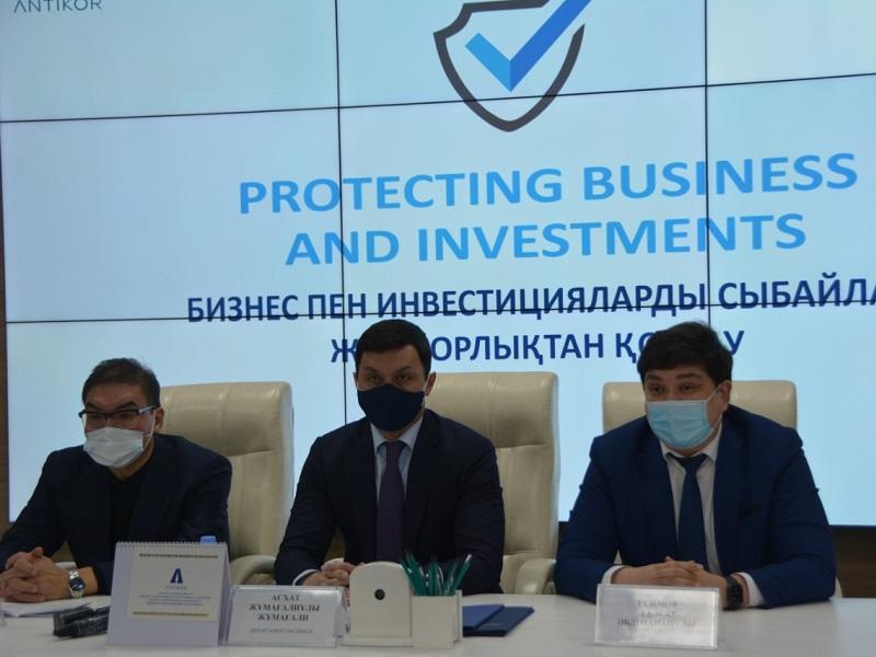 Антикоровцы Шымкента сопровождают 43 инвестиционных проекта